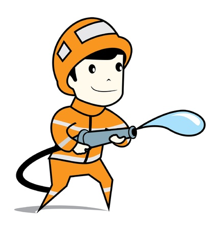 fireman Stock Vector - 16892798