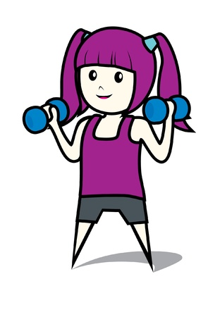health woman Vector