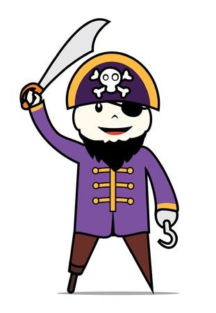 burglar man: cute pirates