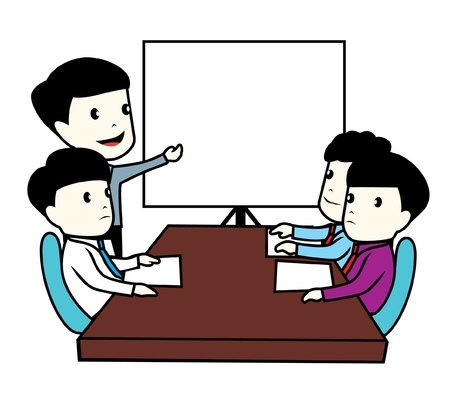 business meeting Stock Vector - 17048741