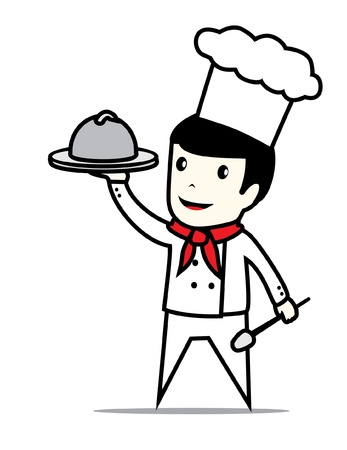 chef man Stock Vector - 17048742