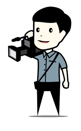 cameraman Illustration