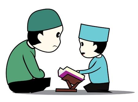 het lezen van Koran een