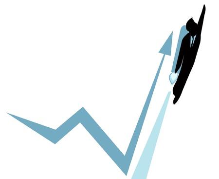 로켓 성장 비즈니스 개념