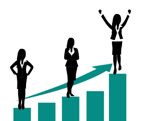 groei concept Stock Illustratie