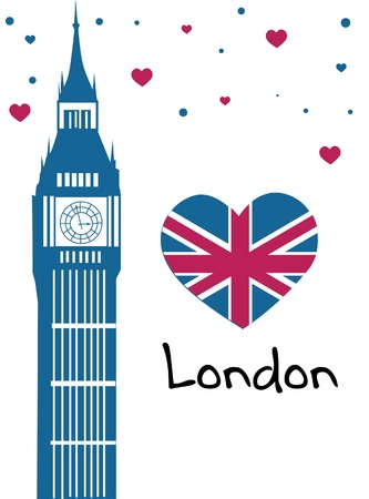 Я люблю Лондон Клипарты, векторы, и Набор Иллюстраций Без Оплаты ...