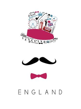 gentleman: mustache man