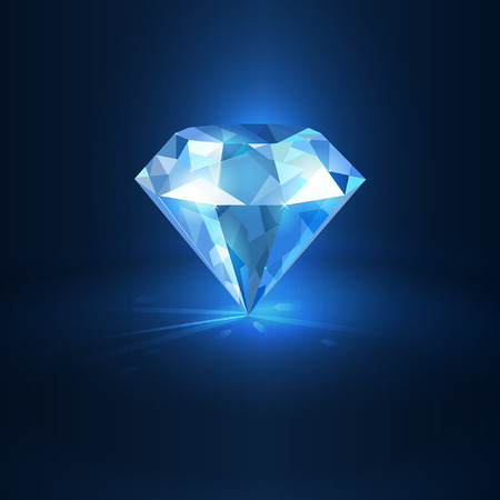 brilliancy: diamond Illustration