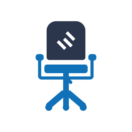 Office Chair Icon Ilustração