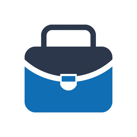 Briefcase icon Design for website Illusztráció