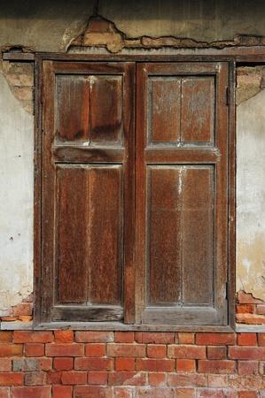 Old windows photo