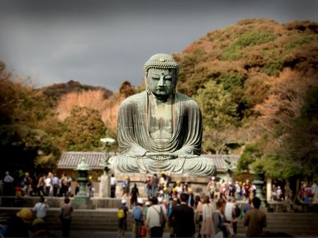 kamakura: daibutsu of kamakura