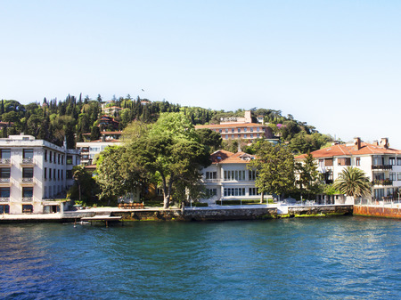 expensive: Expensive residential buildings in KurucesmeIstanbul