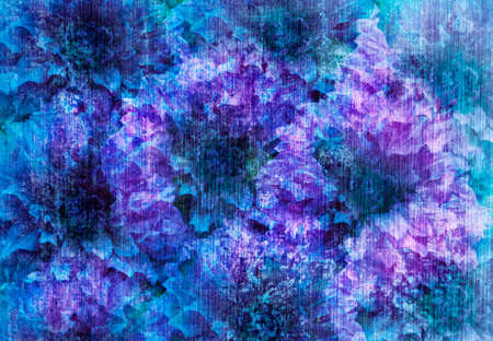 colorize: Modern Graphic Digital Floral Art Design Stock Photo
