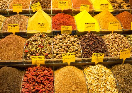 mercado de las especias en Eminonu / Estambul