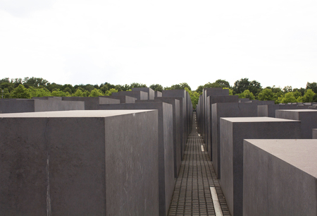 murdered: Memorial to the murdered Jews of Europe in Berlin