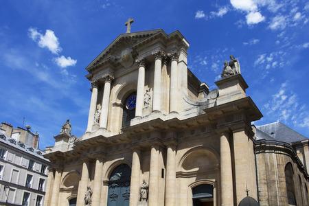 baroque: Baroque church in Paris