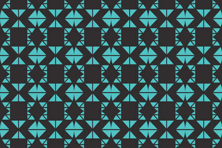 Seamless, abstract background pattern made with triangular shapes. Decorative, geometric vector art.