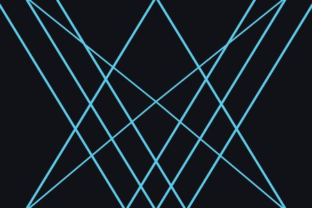 Abstract background pattern made with triangular and trapezoidal shapes in technology and future abstraction. Modern vector art in blue color. Illusztráció