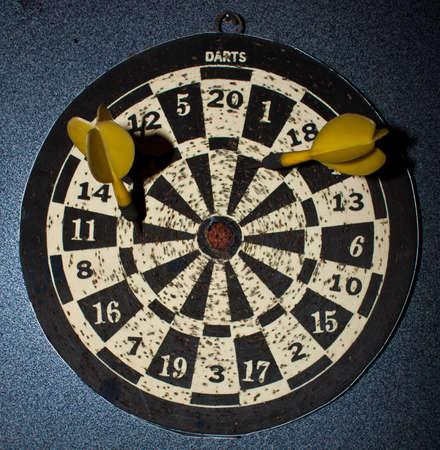Darts key to test memory accuracy Stock Photo