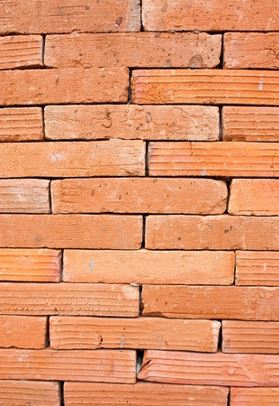 Red brick walls, square patterns often make room wall. Stock Photo - 9013414