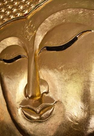 Face Buddha image of buddha in thailand Stock Photo - 9491210