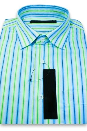 Men's shirt pattern in a comfortable in formal wear. Stock Photo - 9831985