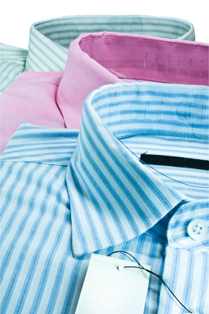 Three men shirt. For them to wear to work. Stock Photo - 9962428