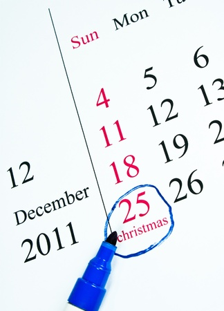 december 25th: December 25th is Christmas and the celebration of happiness.