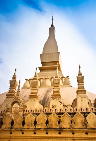 Temple is located in Laos Country