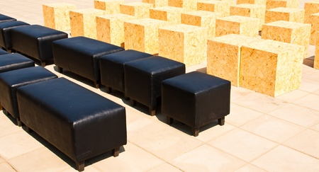 Chair, sit back and relax  Placed outdoors for individuals who are past