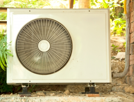 Air conditioner condenser unit to supply the home house or office photo