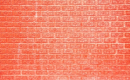 Red brick walls laid until the pattern is beautiful  Stock Photo - 15478814