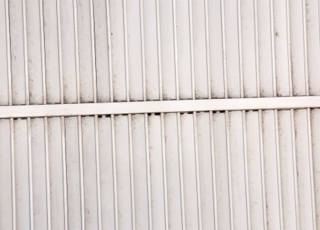 Steel wall and corrugated metal texture surface photo
