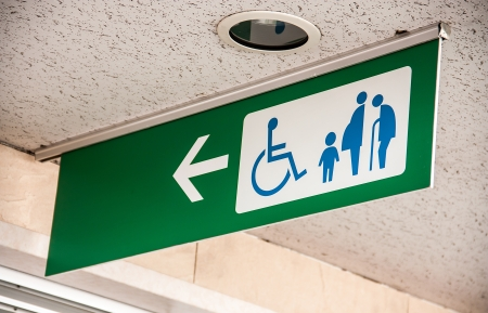 Disabled, Child, Pregnant,  Grandsire the special only sign photo