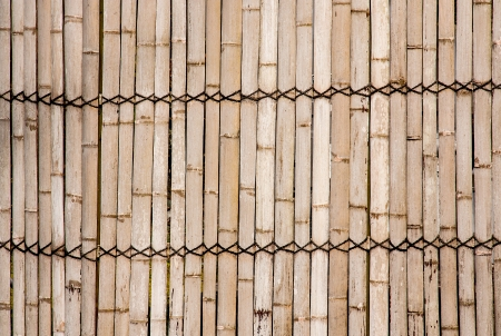 Bamboo walls is the thai style house wall photo