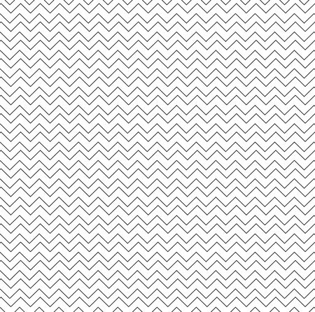vintage black and white seemless pattern. black and white line wave background. Illustration