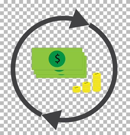 money convert transparent. currency converter icon. dollar exchange sign.