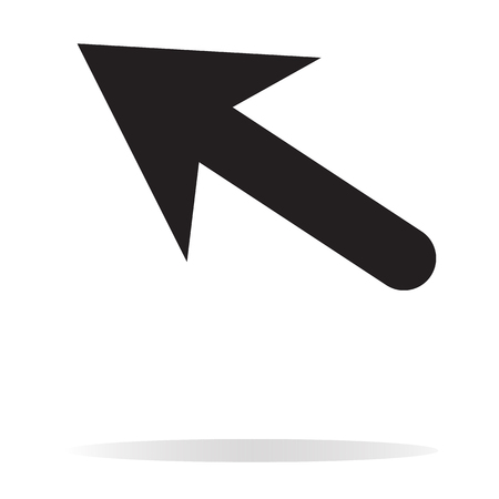 An arrow icon on white background.