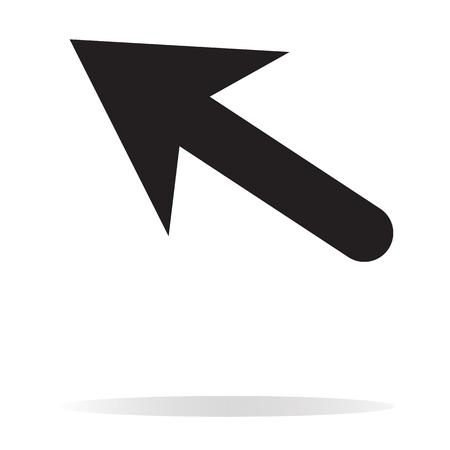 An arrow icon on white background.