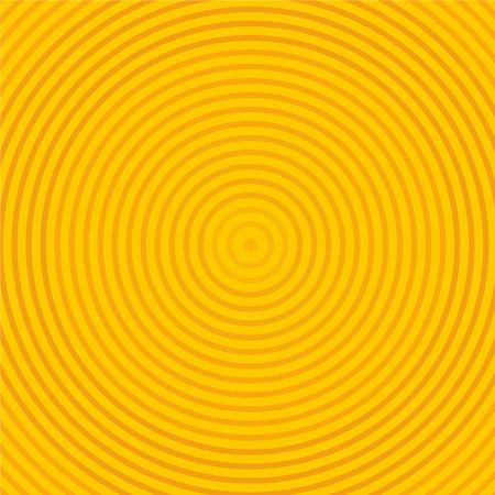sun sunburst pattern. circle sun rays. sun rays on orange color background.