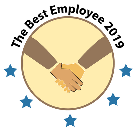 The Best Employee 2019 logo. The Best Employee icon on white background. 写真素材 - 109588164