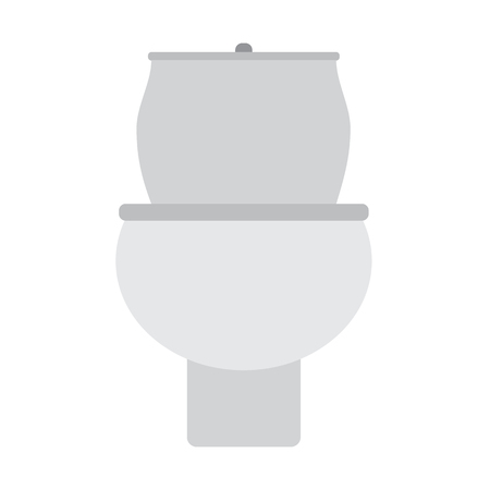 toilet icon on white background. flat style. toilet icon for your web site design, logo, app, UI. toilet seat symbol.