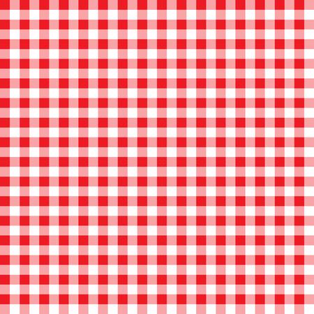 motif vichy brique réfractaire. fond à carreaux rouge et blanc texturé. nappe de fond rouge transparente motif. le modèle pour les textiles. texture de nappe rétro. vichy rouge. Vecteurs