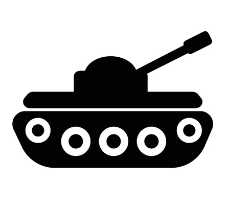 filled tank super icon on white background. flat style. tank icon for your web site design, logo, app, UI. war symbol. army sign.