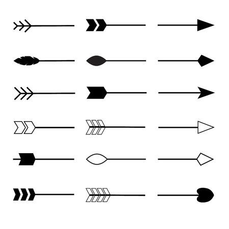 split arrow icon on white background. flat style. split arrow icon for your web site design