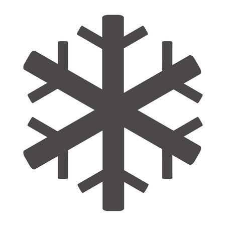air conditioning icon on white background. snowflake symbol. flat style. snowflake icon for your web site design