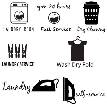 Laundry Room icon on white background. flat style. Laundry Machine icon for your web site design Иллюстрация