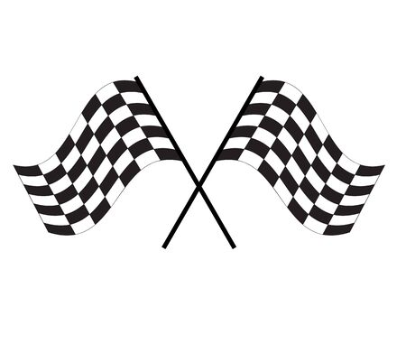 race flag icon on white background. finishing flag sign. start symbol. racing flag icon for your web site design,