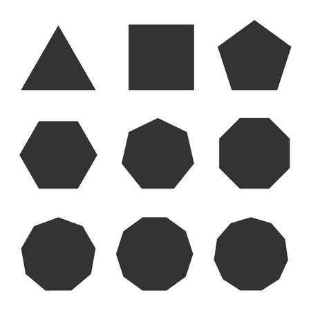Vector of different shape 向量圖像